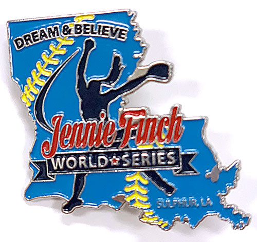 JF World Series Louisiana Pin