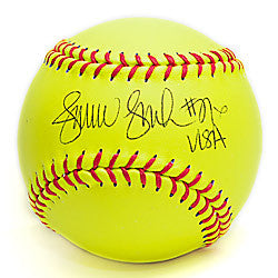 Autographed Softball- Yellow