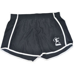 Jennie Finch Black/White Logo Shorts