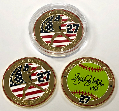 Commemorative Jennie Finch Coin