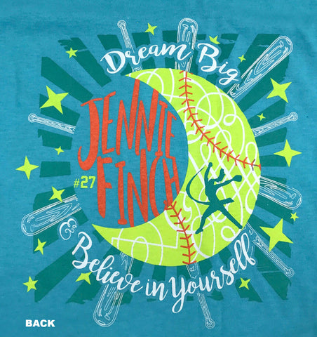 Dream Big & Believe in Yourself T-Shirt-Teal