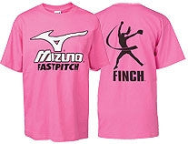 Jennie Finch/Mizuno T-Shirt