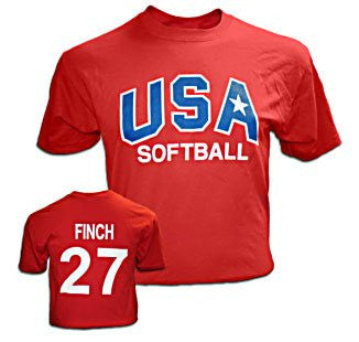 USA Finch Red T-Shirt