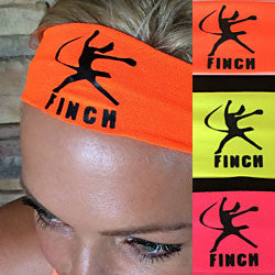 Finch Logo Stretch Sports Headband