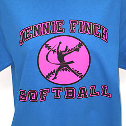 Jennie Finch Softball T-Shirt