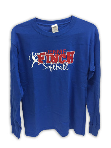 Long Sleeve Jennie Finch Softball T-Shirt