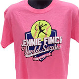 JF World Series T-Shirt - Pink, Royal Blue, Coral