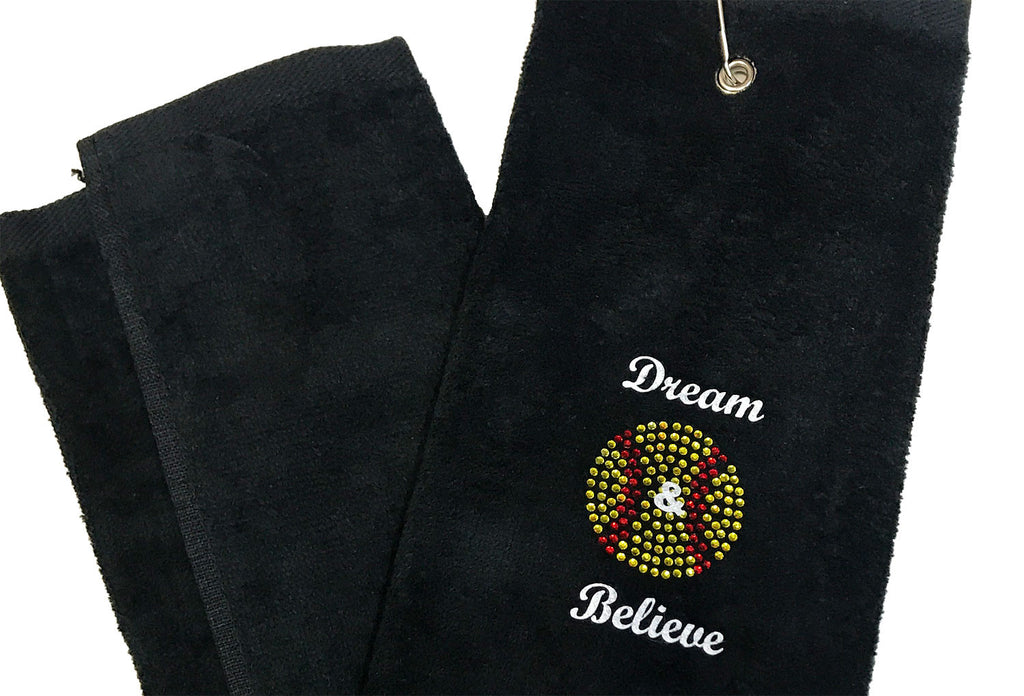 Pin Towel - Dream & Believe