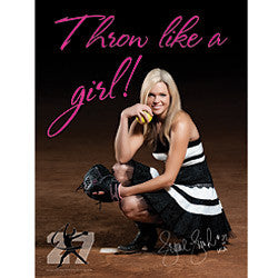 Throw Like a Girl Poster