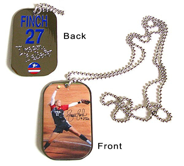 Dog Tag - USA Finch Signature DT