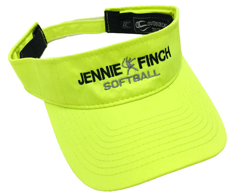 Visor - Jennie Finch Softball (Optic Yellow)