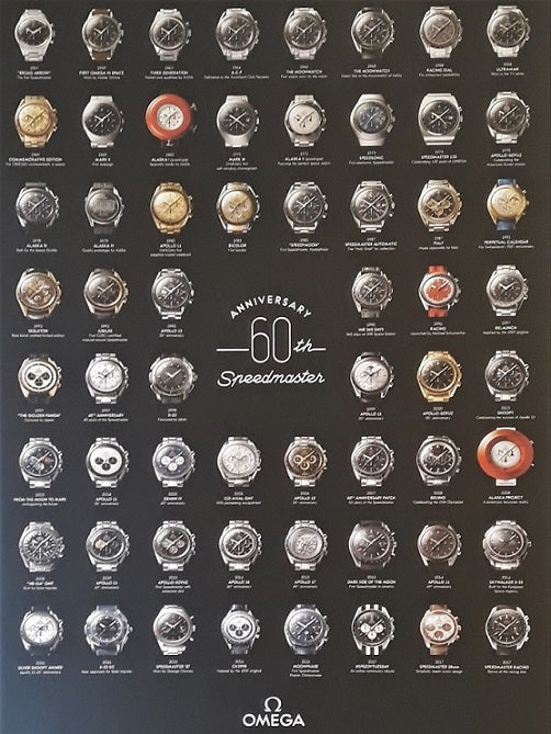OMEGA Speedmaster 60th Anniversary collection