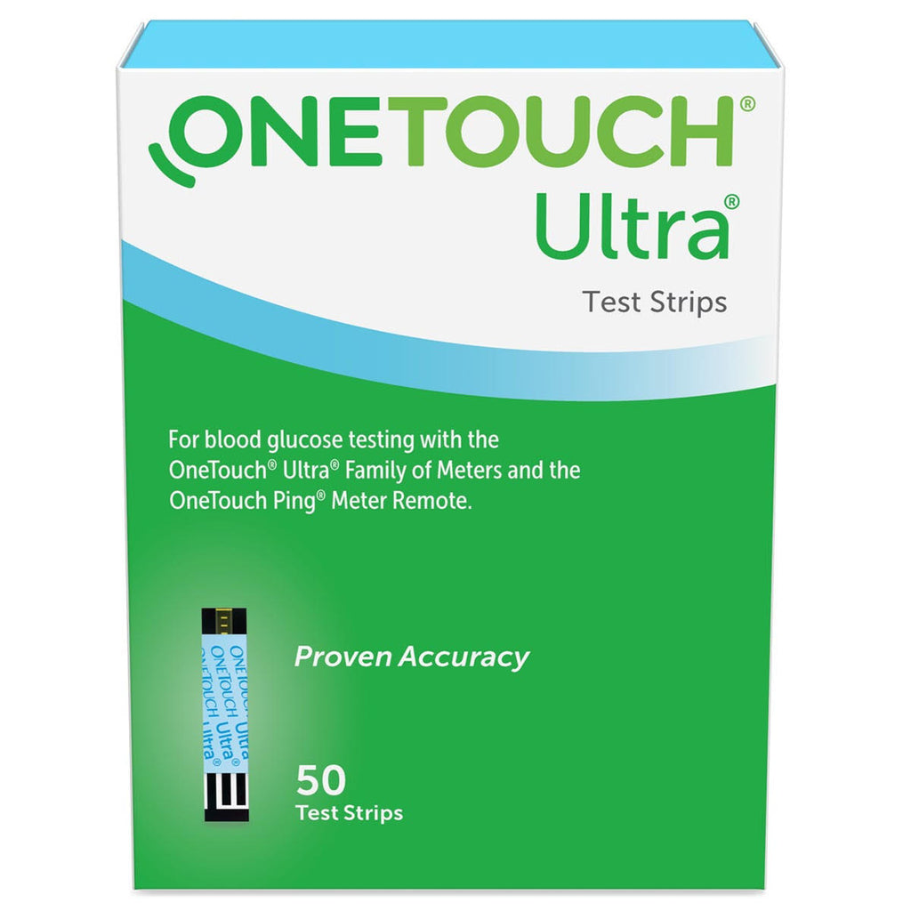 OneTouch Ultra <br>Blood Glucose Test Strips <br> 50 ct.