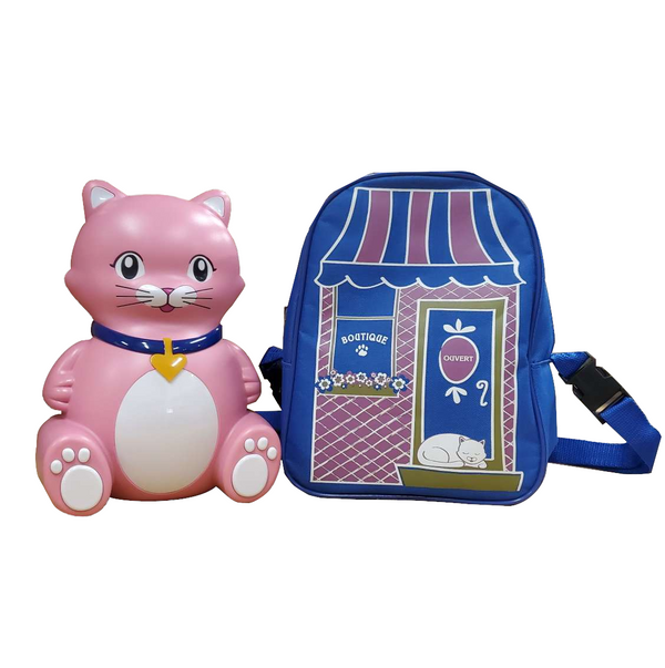 Veridian Pediatric <br>Kitty Cat Nebulizer <br>W/Bag