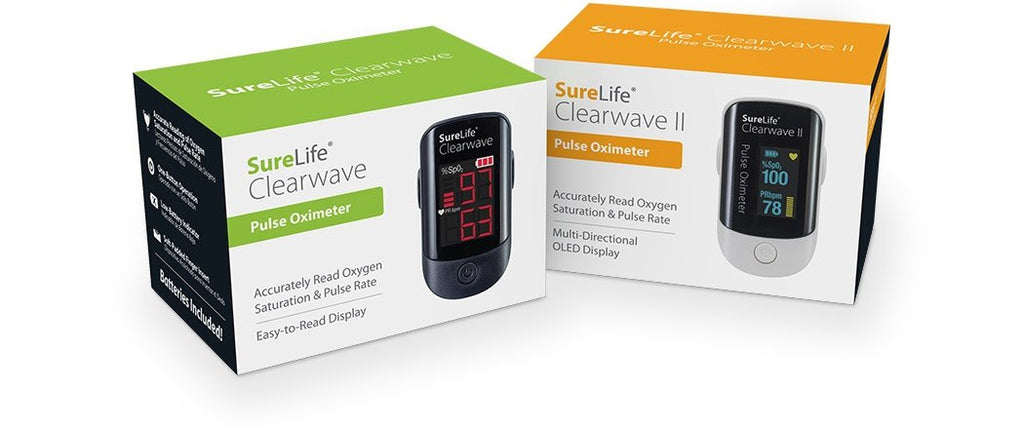 Clearwave Pulse Oximeter<br>BLACK