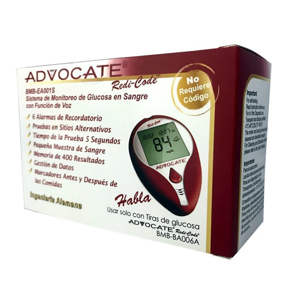Advocate Redi-Code + <br>Speaking Blood Glucose <br>Monitoring System