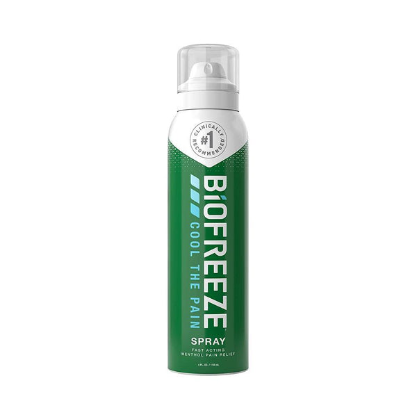 Biofreeze Pain Relief Spray<br> Aerosol Spray Colorless <br> 4 oz.