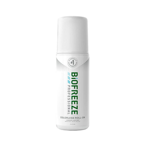 Biofreeze Professional <br>Roll-On Pain Relief <br>Gel Bottle Colorless <br> 3 oz.