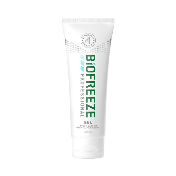 Biofreeze Pain Relief Gel <br> Tube Colorless <br>4 oz.