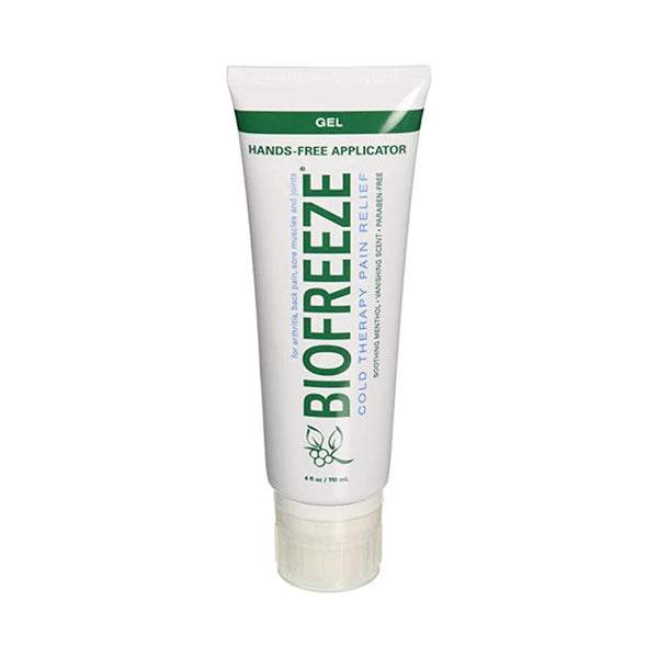 Biofreeze Pain Relief Gel <br>for Arthritis<br> Tube with Hands-Free Applicator<br> 4 oz.