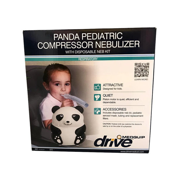 Drive Medical<br> Panda Pediatric Nebulizer <br> with Disposable Neb Kit