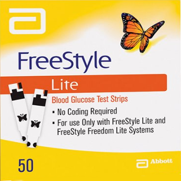 Freestyle Lite 50<br>NDC: 99073-0708-22 <br> UPC: 699073708229