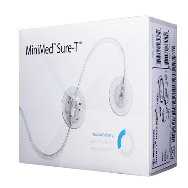 Medtronic MMT862 <br> Minimed Sure-T Infusion<br>  Set 29G 6mm 18in 10/BX