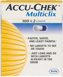 Multiclix Lancets<br>NDC: 50924-0450-01<br> UPC: 075537450970