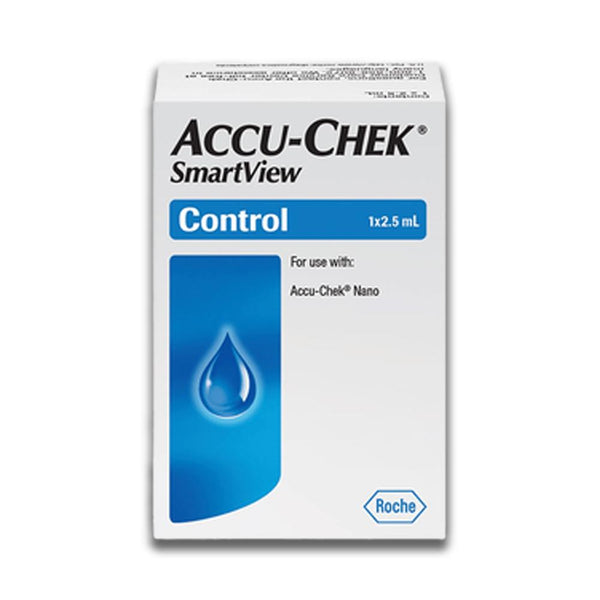 Accu-Chek Smartview Control Solution Level 1 - 2.5ml Bottle