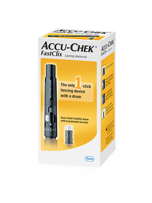 Accu-Check FastClix <br>Lancing Device Kit