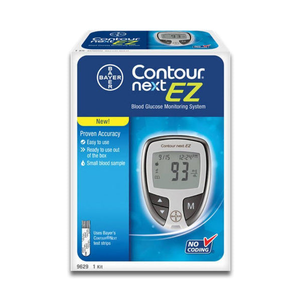 Bayer Contour Next <br>EZ Blood Glucose<br> Monitoring System
