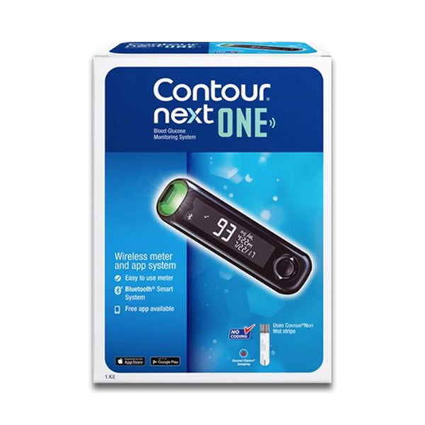 Bayer Contour Next <br>One Blood Glucose <br>Monitoring System