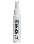 Biofreeze Pain Relieving Spray <br>- 4oz<br>NDC: 59316-104-20<br> UPC: 731124100153