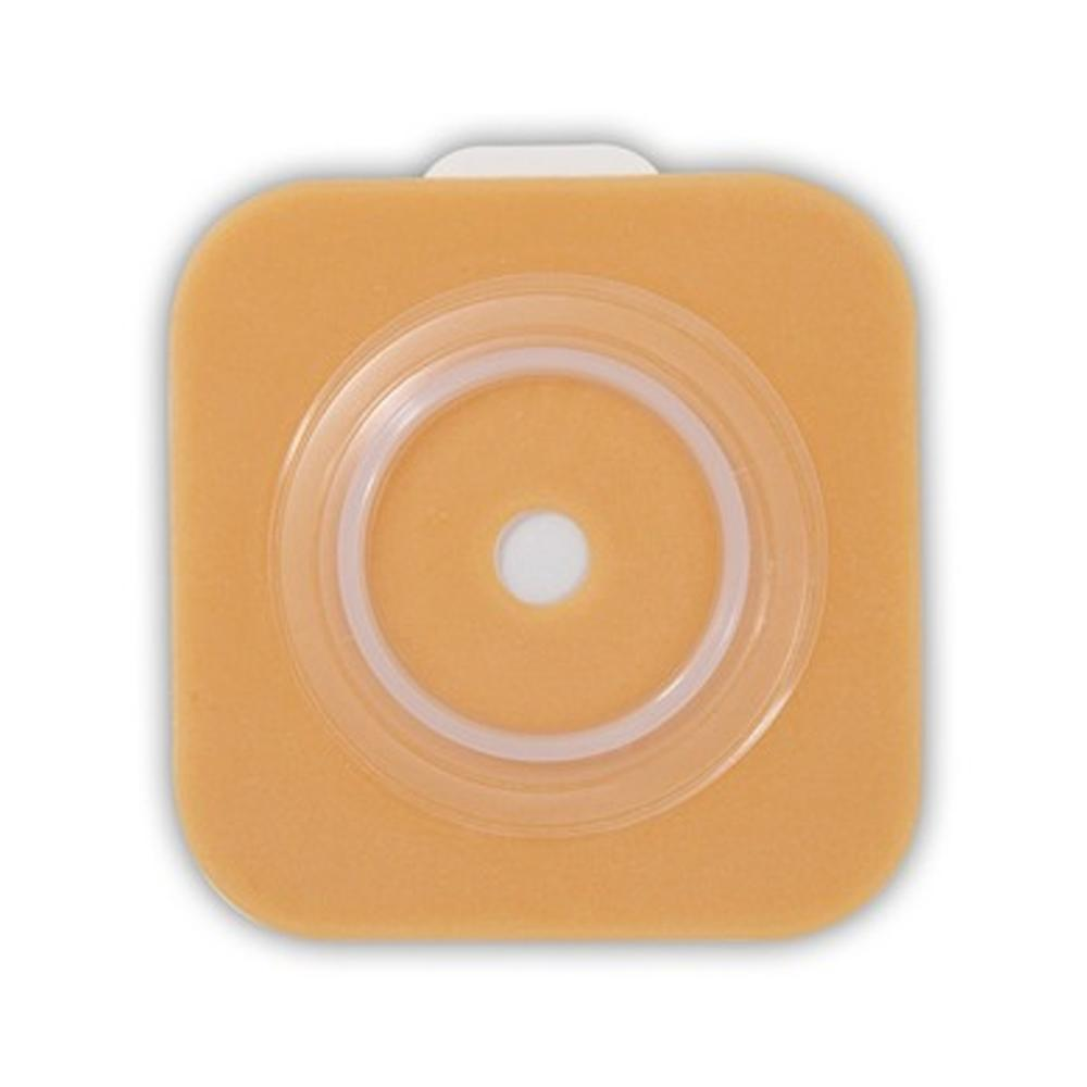"ConvaTec 125271 <br> SUR-FIT Natura Two-Piece <br>Pre-Cut Stomahesive Flexible <br> Skin Barrier with tape collar, Tan, <br> 45mm (1 3/4"") flange  25mm (1"") stoma opening, 10/BX"