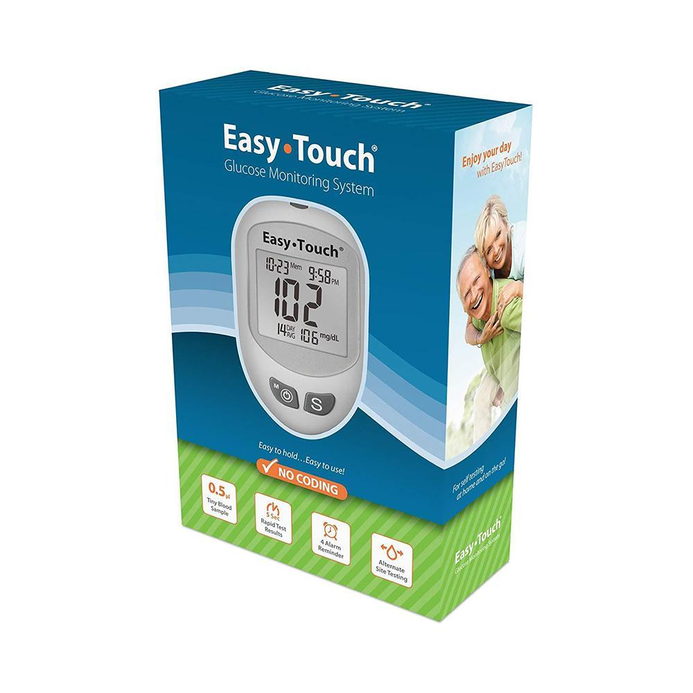 Easy Touch <br>Diabetic Blood Glucose <br>  Meter System