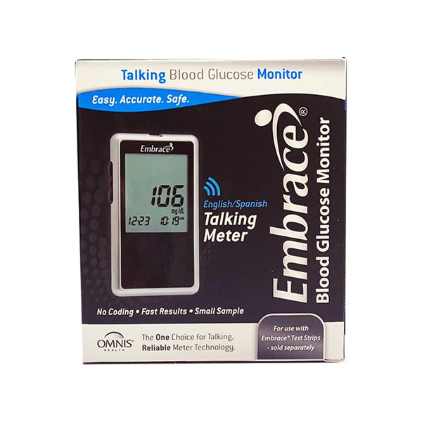 Embrace Blood Glucose <br>Talking Meter