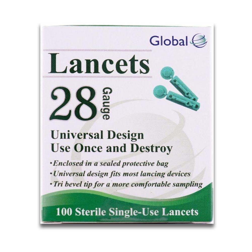 Easy Glide 28G <br>Twist Top Lancets <br> 100 ct.