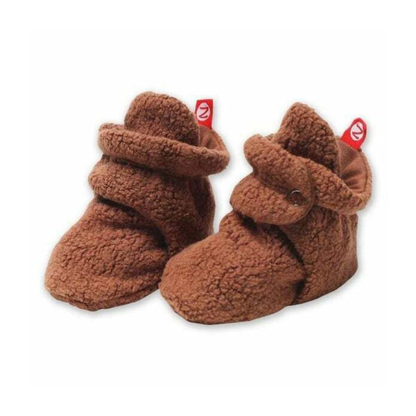 Zutano Baby Booties <br>Chocolate Brown