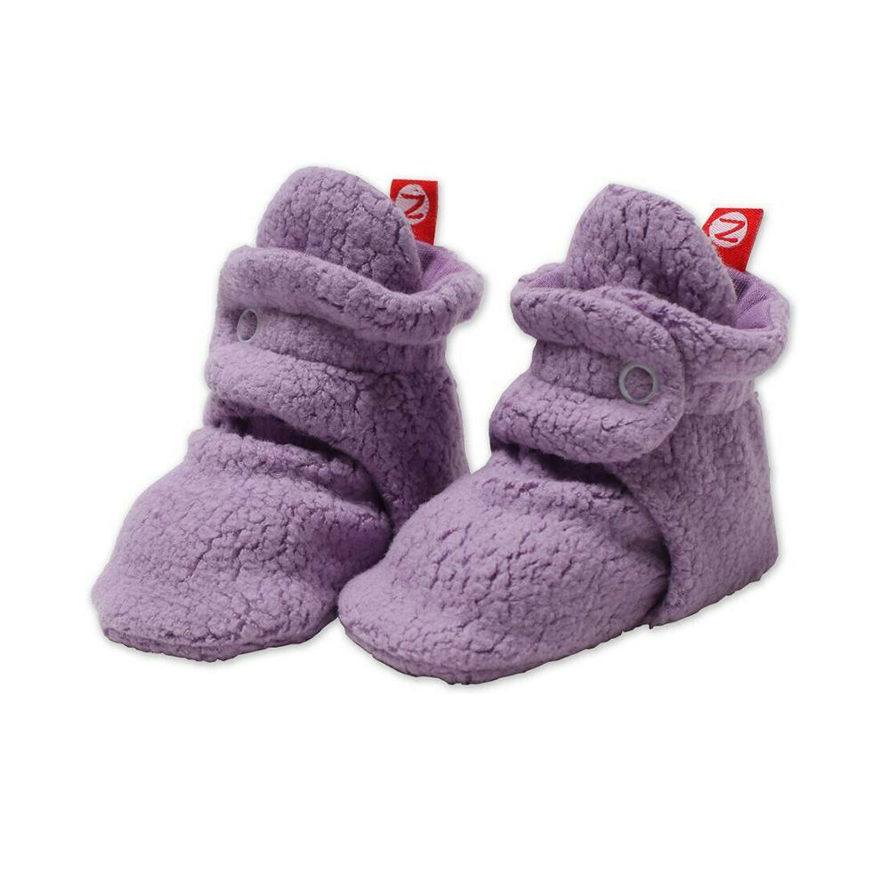 Zutano Baby Booties <br>Purple Orchid