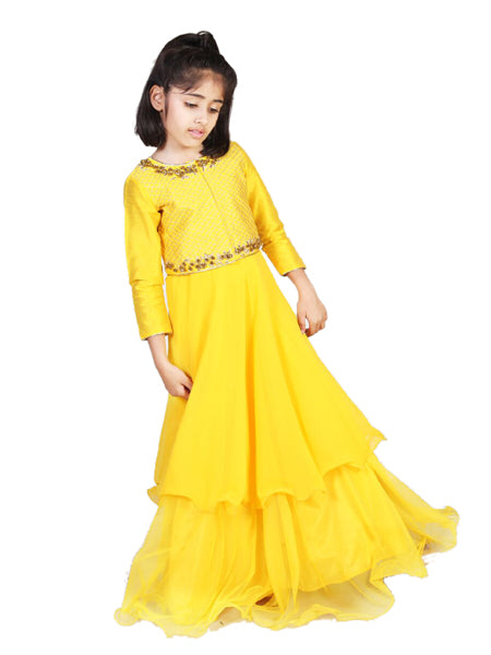 yellow Indian Gown