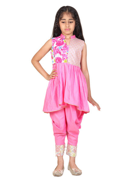 Smart Indian Pink Suit
