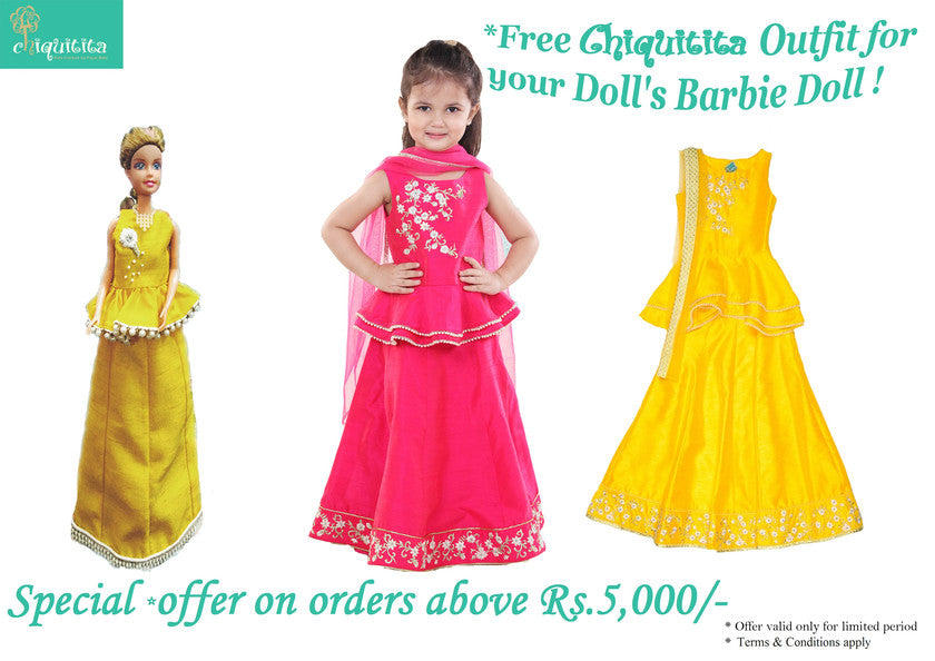 Special Offer : A Chiquitita outfit for Barbie Doll !!