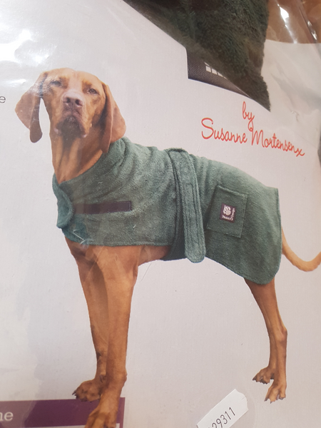 Danish Design Dog/Puppy Towelling Drying Robe/Coat