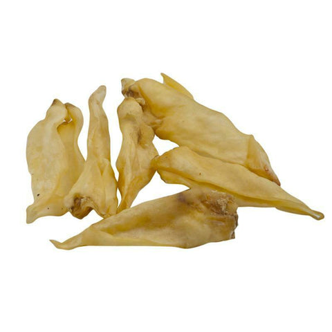 LAMBS EARS, 100 % NATURAL DOG TREATS 100g