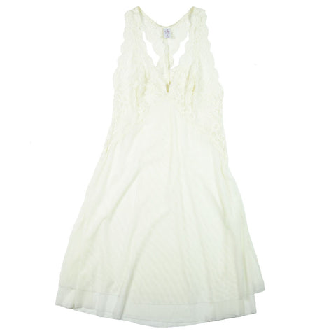 Clo Intimo Fortuna Racerback Chemise at Forty Winks in Ivory