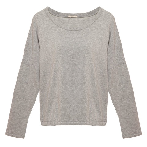 Eberjey Winter Heather Slouchy Tee