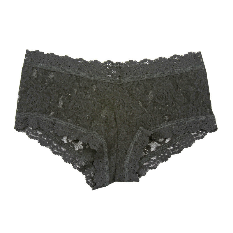 Hanky Panky Signature Lace Boyshort at Forty Winks in Black