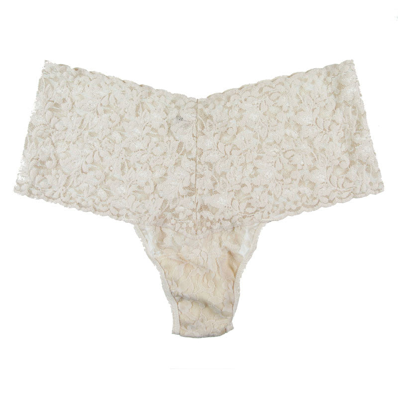 Hanky Panky Signature Lace Retro Thong at Forty Winks in Chai