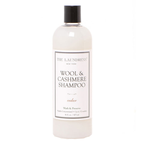 The Laundress Wool & Cashmere Wash 16 oz. Bottle.