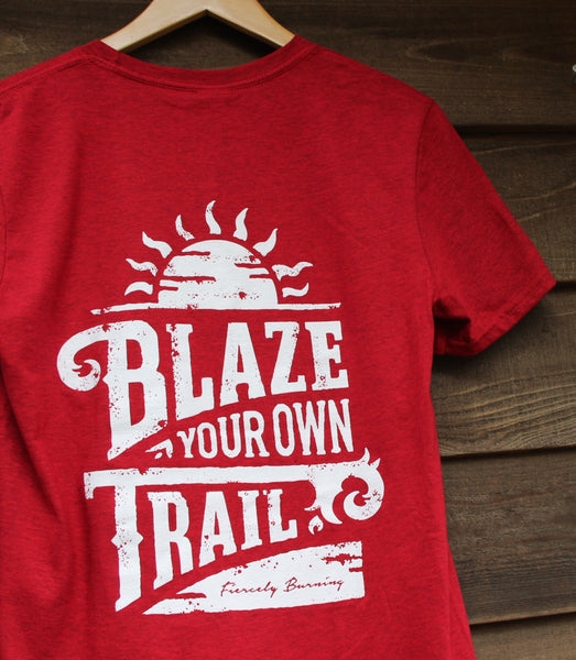 Blaze Your Own Trail short sleeve T